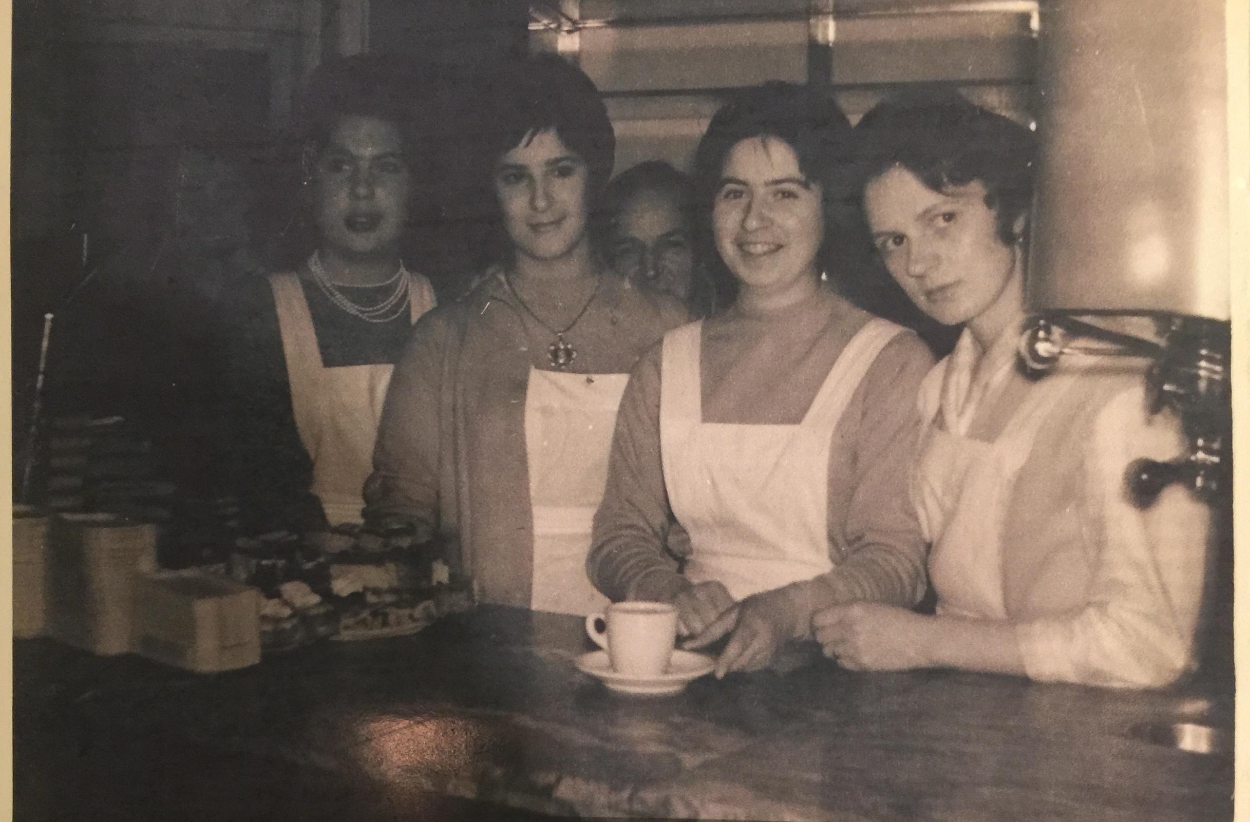 Florencia personeel rond 1960